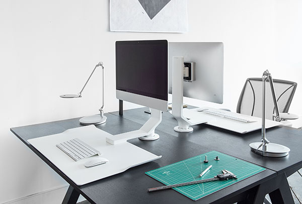 Humanscale Quickstand Under Desks