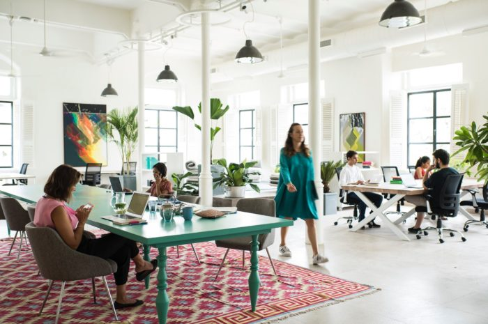 Collaboration Inspired Office Design