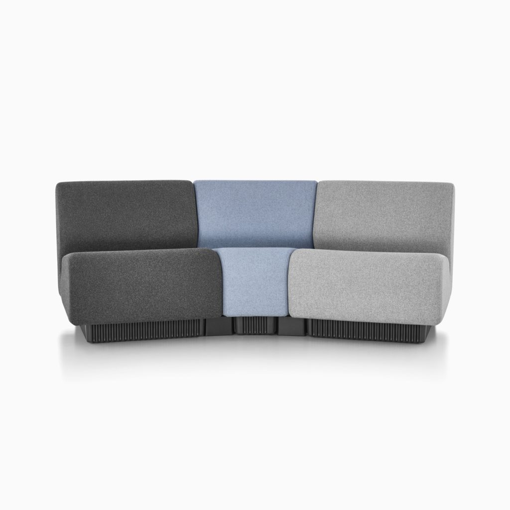 The Collection at Work: Meet Up, Team Up Chadwick Modular Seating from Herman Miller.